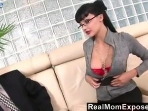 Butthole of strict MILFie business lady Aletta Ocean gets fucked really hard