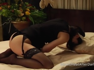 The Maids Honor: Bubble Butt Whipped While Maid Masturbates