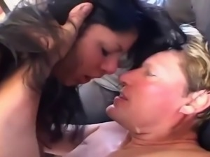 Cumshot fetish surprise creampie