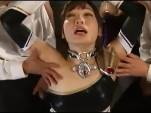 Superheroine armpit fetish