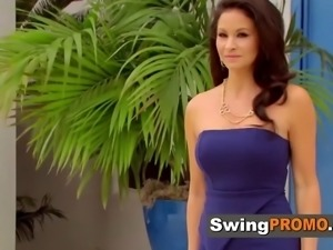 Vegan swingers prepare for first swinger