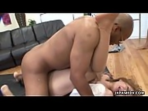 Japanese slut, Yuka Sawakita had a wild interracial threesome, uncensored