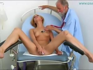 Three women gyno orgasm