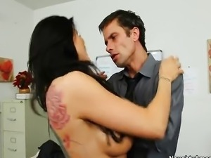 Tattoo - Romi Rain Office Fun