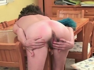 Kinky British mommas having a break to masturbate