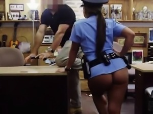 Hardcore pawn crotch bulge Fucking Ms Police Officer