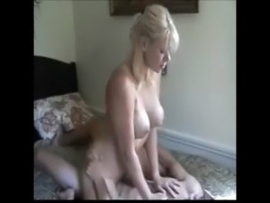 gorgeous blonde milf enjoying anal with younger boy free